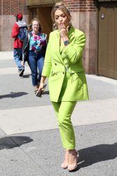 Rita Ora in Lime Green - New York City 06/18/2017