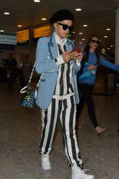 Rita Ora Style - Heathrow Airport in London, UK 06/14/2017