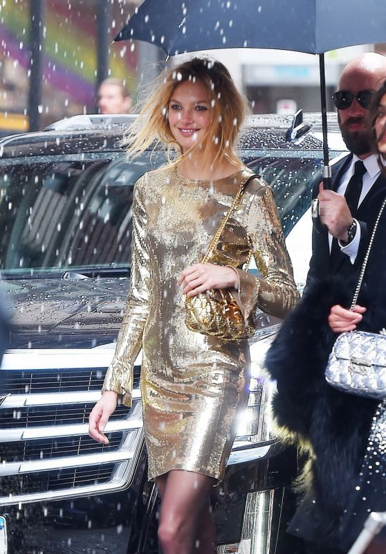 Romee Strijd and Taylor Hill - Michael Kors Photoshoot in NYC 06/09/2017