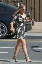 Ronda Rousey in Mini Dress - Los Angeles 06/14/2017