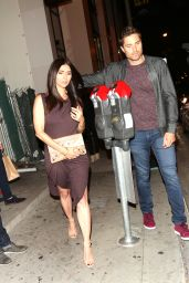 Roselyn Sanchez With Her Husband Eric Winter at Catch Restaurant in LA 05/31/2017