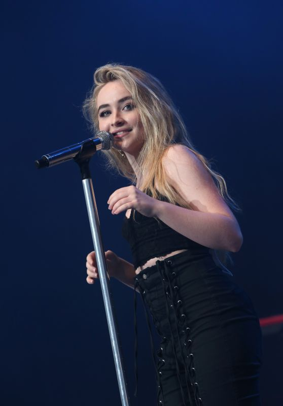 Sabrina Carpenter Performas Live at BLI Summer Jam Concert in NY 06/16/2017