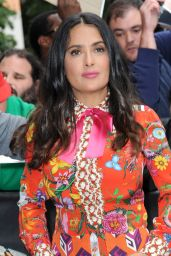 """Salma Hayek at """"The Daily Show with Trevor Noah"""" in New York 06/08/2017"""