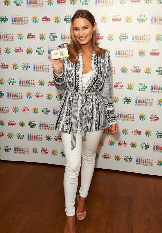 Sam Faiers - Get More Multivitamin Chewing Gum Launch in London, UK 06/27/2017