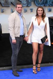 """Sam Faiers – """"Transformers: The Last Knight"""" Premiere in London 06/18/2017"""