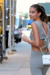 Sara Sampaio Cute Style - Leaving Milk Studios in New York City 06/22/2017