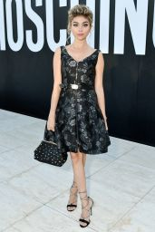 Sarah Hyland – MOSCHINO Spring Summer 2018 Menswear and Women's Resort Collection in LA 06/08/2017