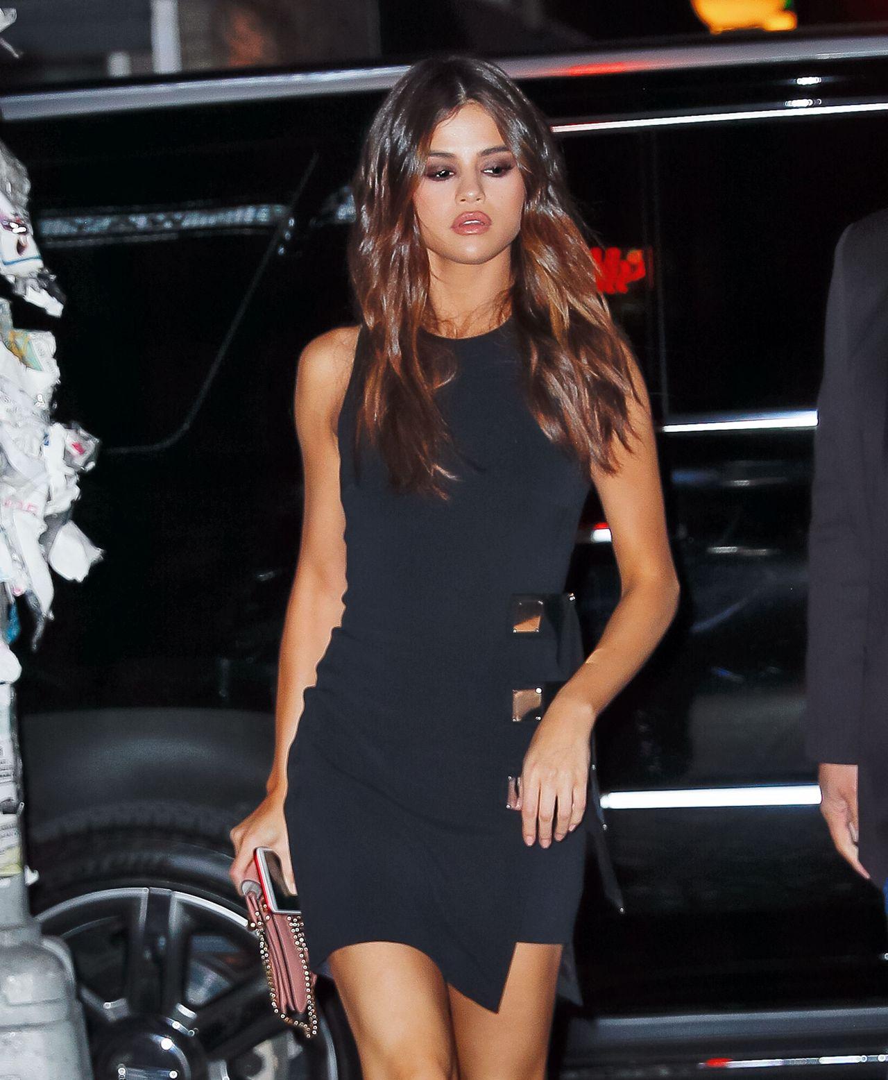 Selena Gomez Night Out Stye - New York City 06/03/2017