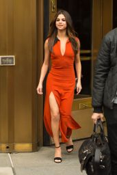 Selena Gomez Shows Off Her Eclectic Style - Leaving z100 Radio Station in Manhattan 06/05/2017