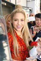 Shakira at NRJ Radio in Paris 06/10/2017