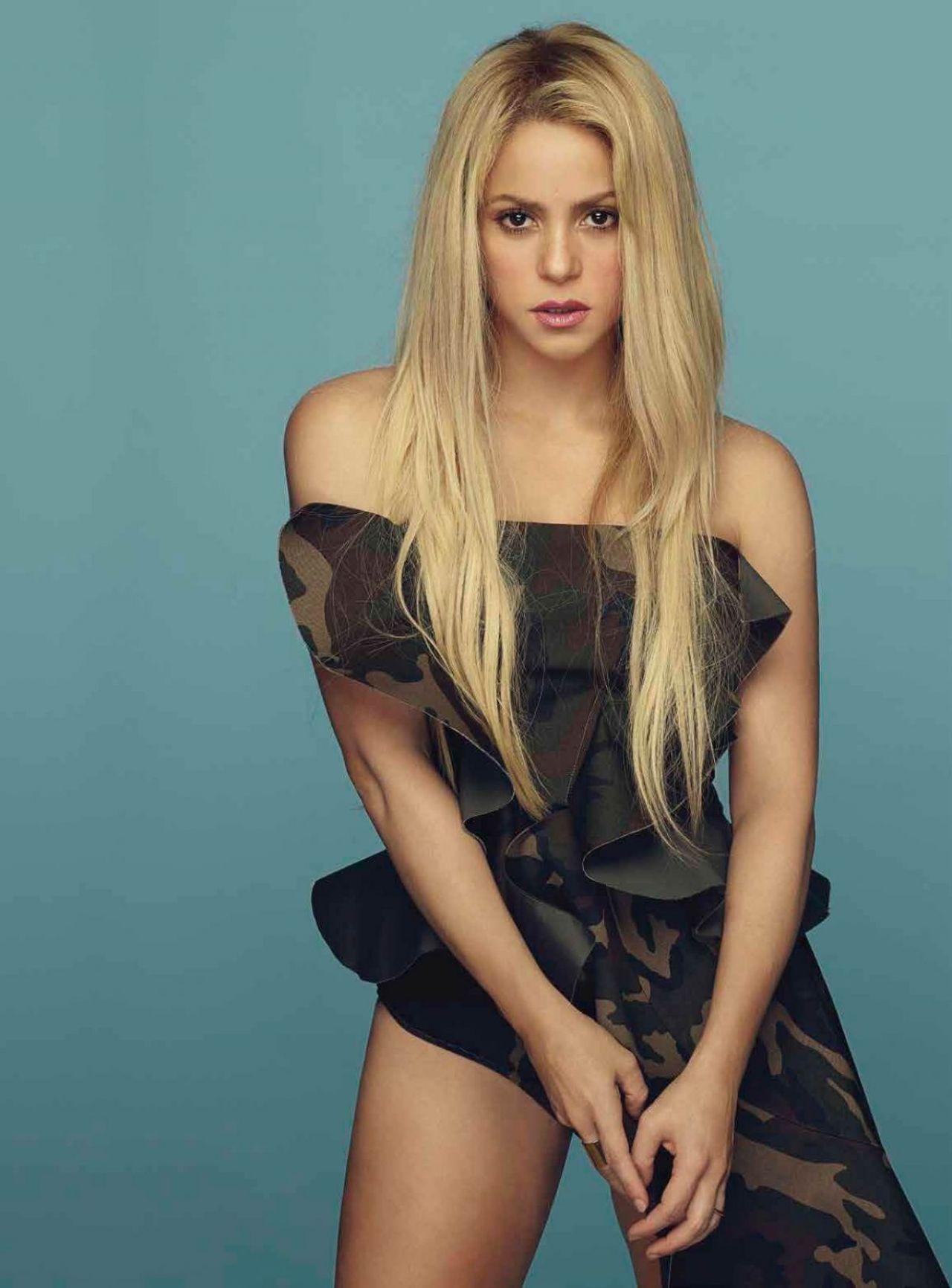 Shakira Cosmopolitan Magazine Mexico Photoshoot July 2017