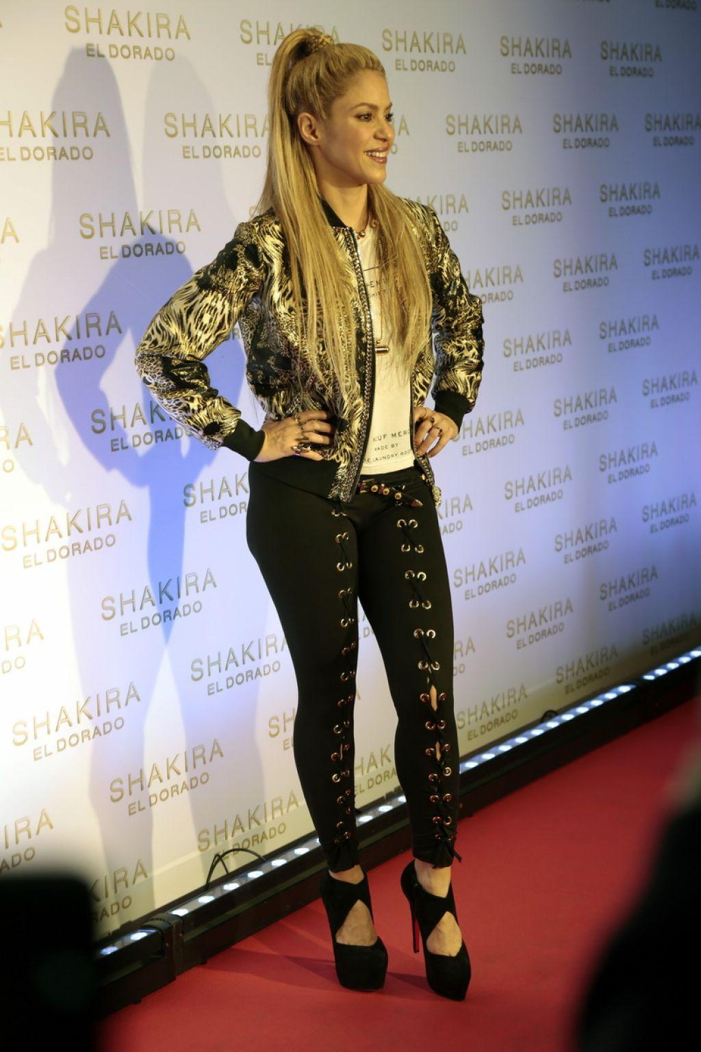 Shakira Quot El Dorado Quot Album Launch In Barcelona 06 08 2017
