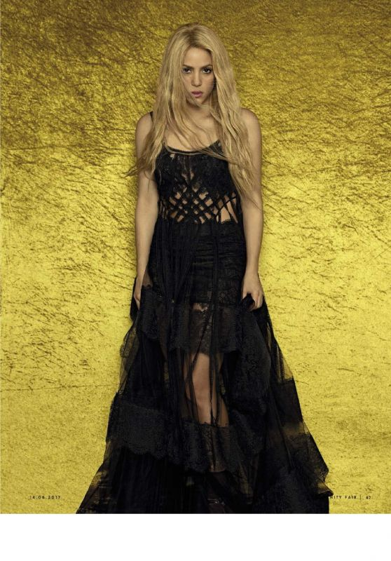 Shakira - Vanity Fair Magazine Italy June 2017 Issue