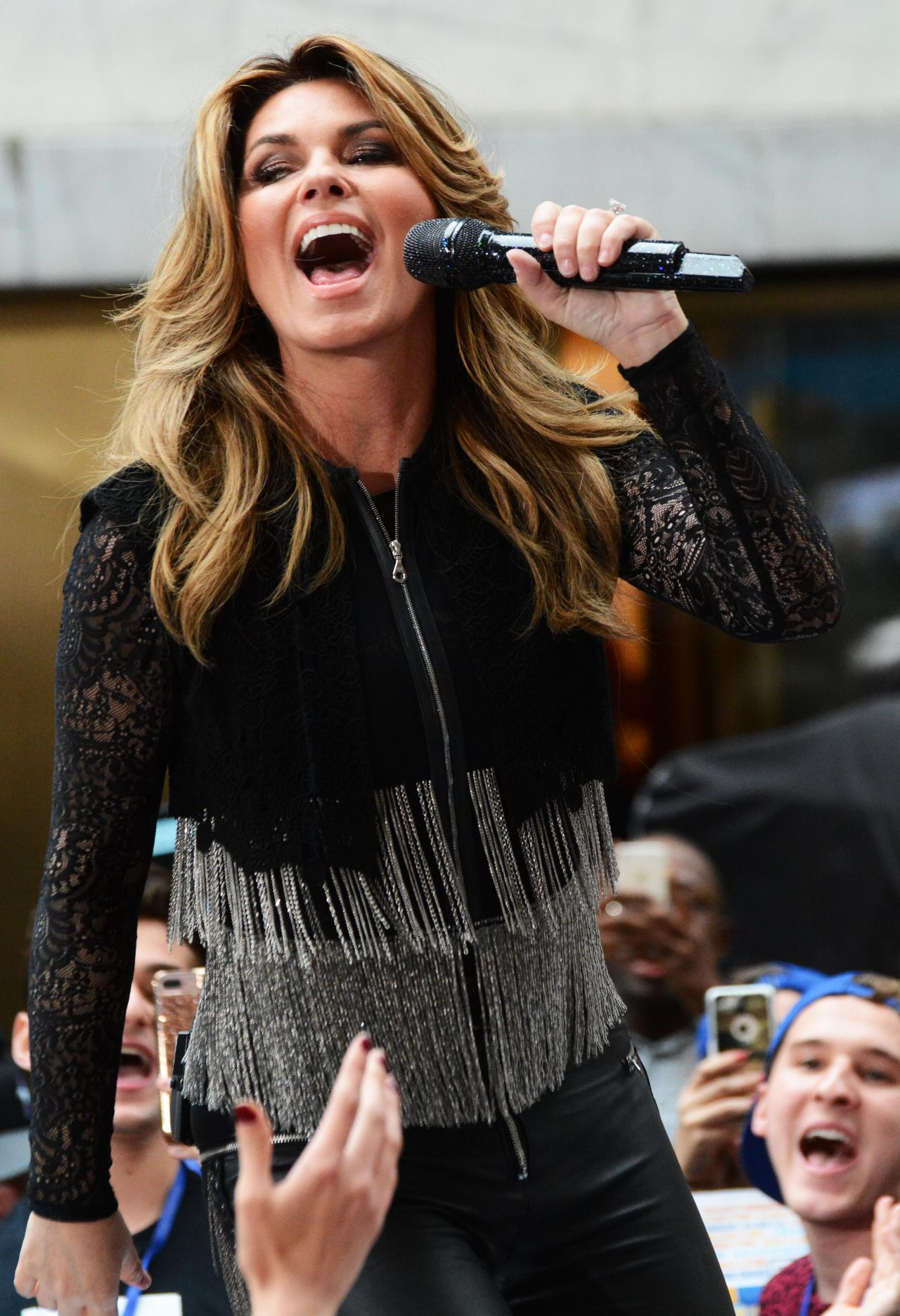 Shania Twain Performs At The Today Show Concert Series