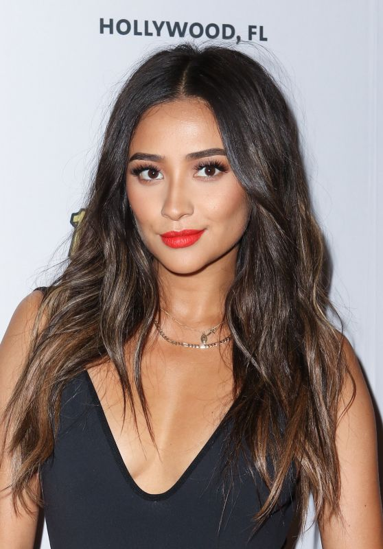 Shay Mitchell - Ocean Drive Magazine Celebrates It