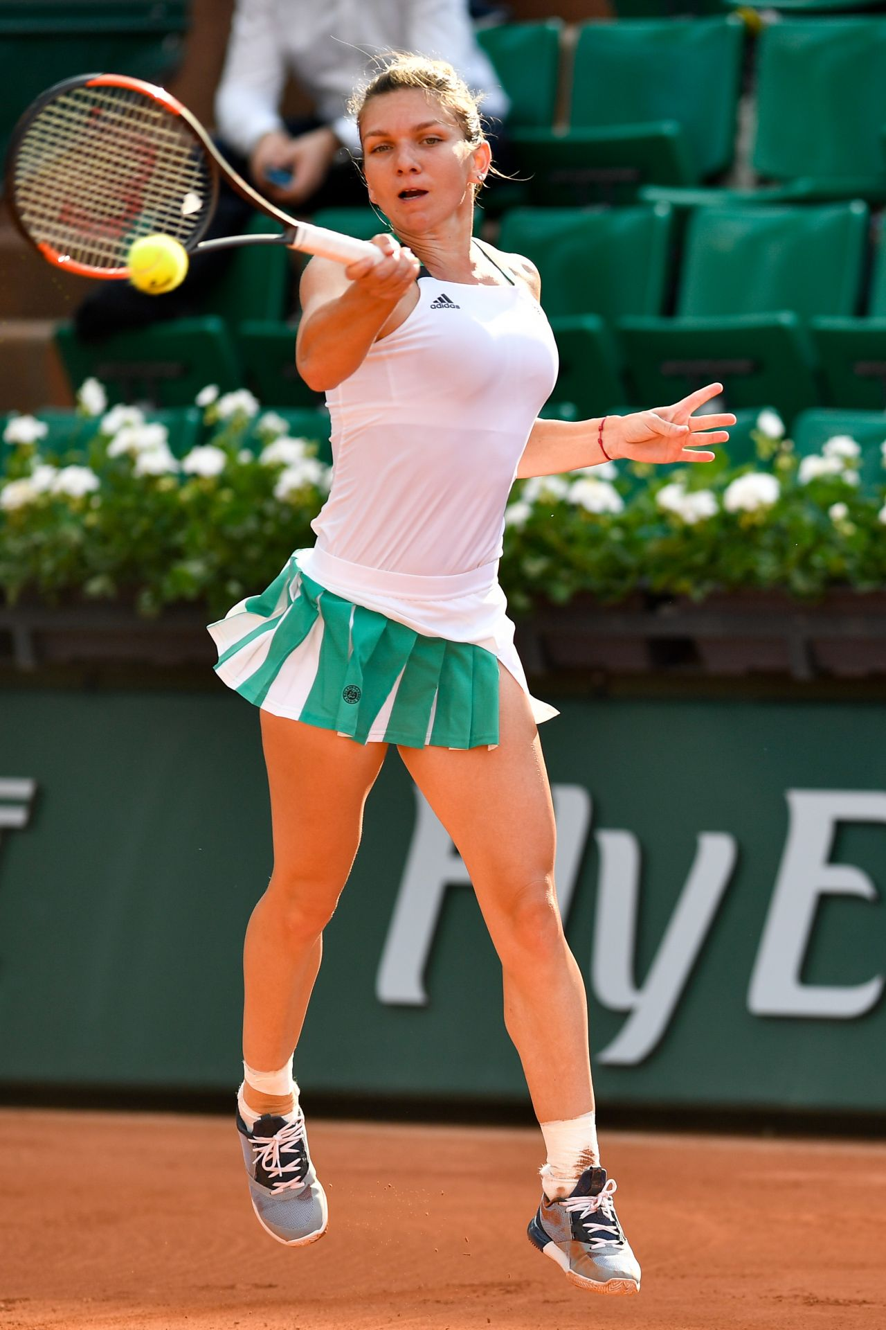 Simona Halep French Open Tennis Tournament In Roland