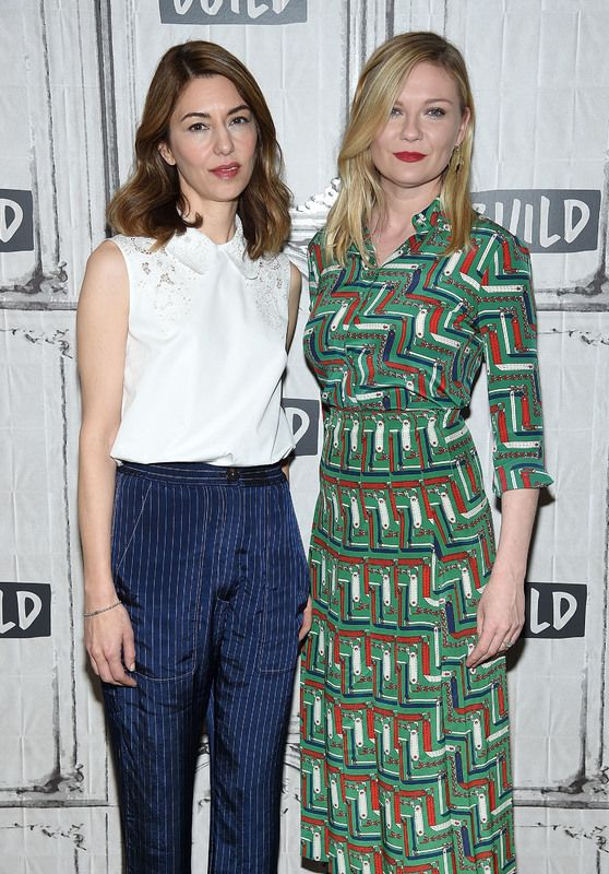 Sofia Coppola and Kirsten Dunst - AOL Build Show 06/21/2017