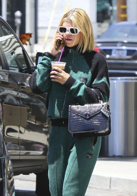Sofia Richie - Stops for a Coffee at Starbucks in LA 06/12/2017