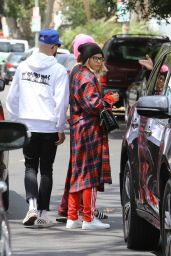 Sofia Richie Street Style - Out for Breakfast in West Hollywood 06/11/2017