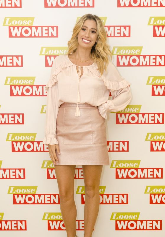 Stacey Solomon - Loose Women TV Show in London, UK 06/26/2017