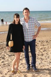 """Stacy Martin - """"Le Redoutable"""" Photocall at Cabourg Film Festival 06/17/2017"""