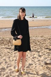 "Stacy Martin - ""Le Redoutable"" Photocall at Cabourg Film Festival 06/17/2017"