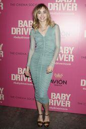 "Suki Waterhouse – ""Baby Driver"" Premiere in New York 06/26/2017"