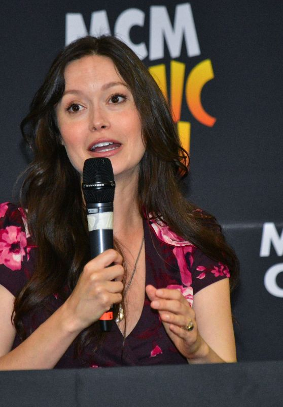 Summer Glau - MCM Comic Con in County Antrim in Northern Ireland 06/25/2017