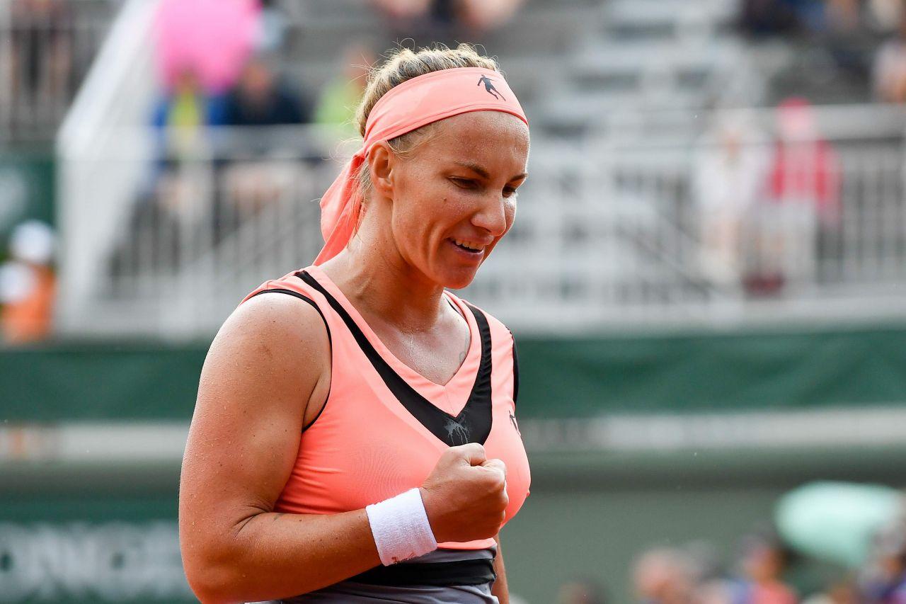 Kuznetsova – French Open Tennis Tournament in Roland Garros Paris