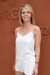Sylvie Tellier – French Open Mens Final at Roland Garros in Paris 06/11/2017