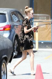 Tallulah Willis - Out for Lunch With a Friend at The Oaks Gourmet Market in LA 06/19/2017