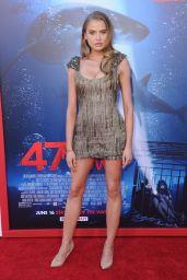 "Tanya Mityushina - ""47 Meters Down"" Premiere in Hollywood 06/12/2017"