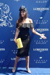 Tatiana Silva – Prix de Diane Horse Cacing at Chantilly Horsetrack Near Paris 06/18/2017