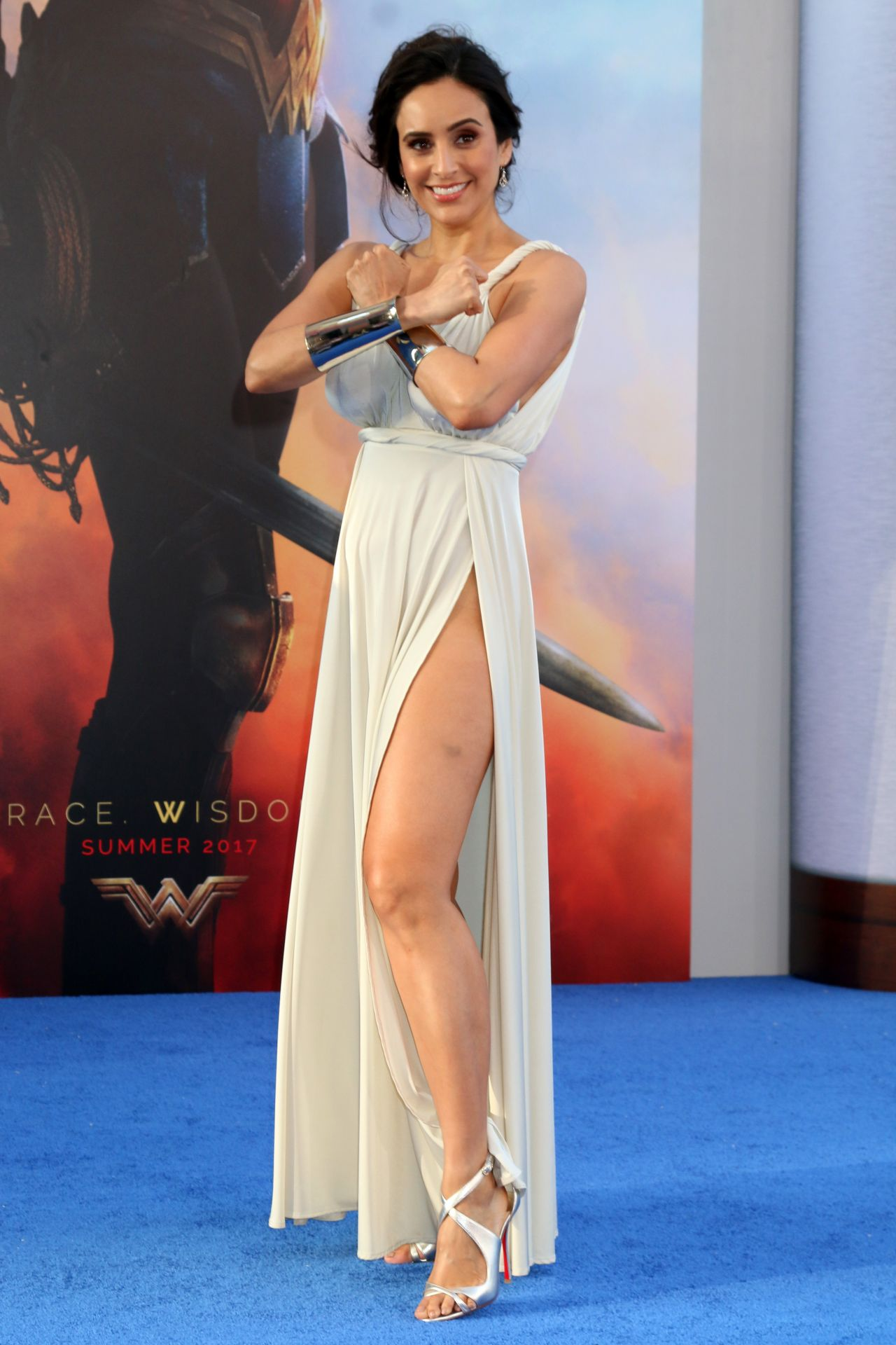Valerie Perez Quot Wonder Woman Quot Movie Premiere In Los