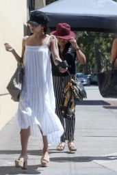 Vanessa and Stella Hudgens - Out for Lunch in LA 06/17/2017