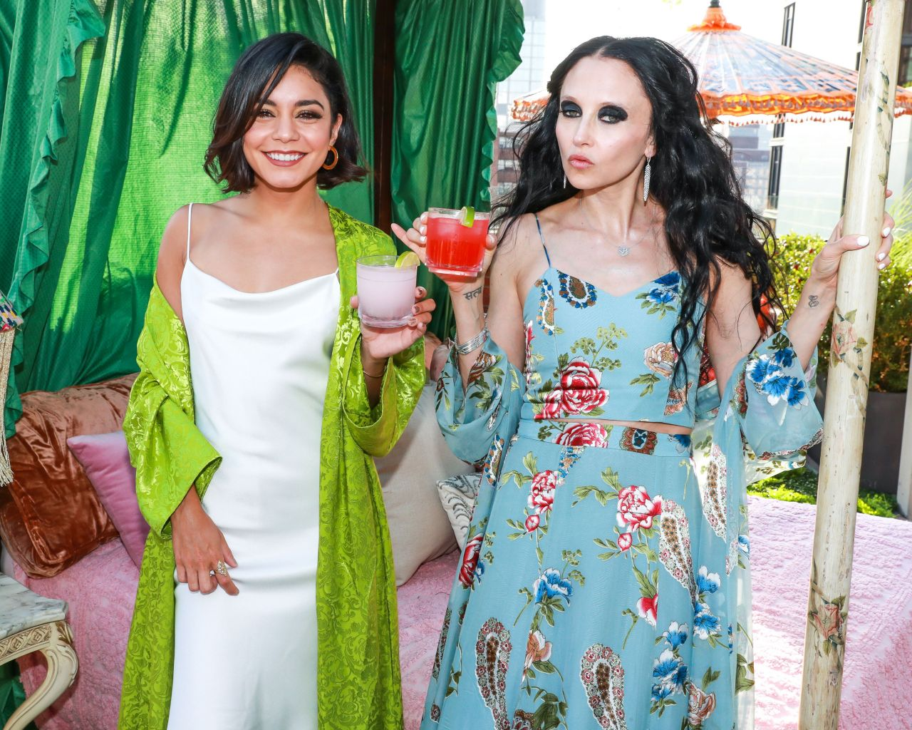 bc2a41f5cd2f1 Vanessa Hudgens Attends alice + olivia Jose Cuervo Launch in NYC 06/22/2017