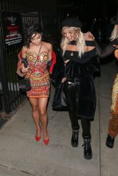 Vanessa Hudgens - Leaving the Moschino Spring Summer 2018 Collection Party in Hollywood 06/08/2017