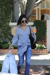 Vanessa Hudgens Urban Outfit - Shops for Clothing at Melrose Place in West Hollywood 06/12/2017