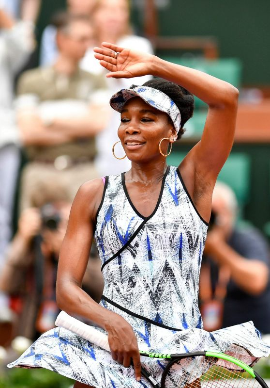 Venus Williams – French Open Tennis Tournament in Roland Garros, Paris 06/03/2017