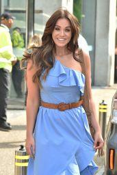 Vicky Pattison Chic Style - Outside ITV Studios in London, UK 06/21/2017