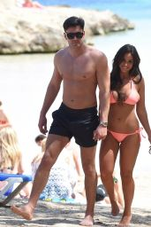 Vicky Pattison in Salmon Pink Bikini - Mallorca, Spain 06/07/2017