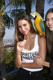 Victoria Justice - Reef Kicks off Summer With a Hollywood Hills ESCAPE in LA 06/24/2017