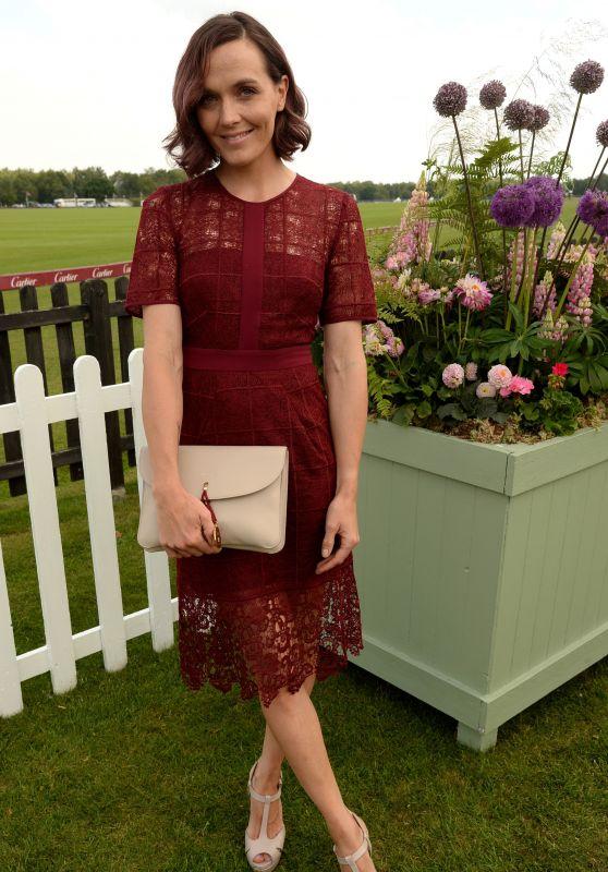 Victoria Pendleton – Cartier Queen's Cup Polo Tournament Final in Berkshire 06/18/2017