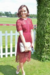Victoria Pendleton – Cartier Queen's Cup Polo Tournament Final in Berkshire 06/18/2017