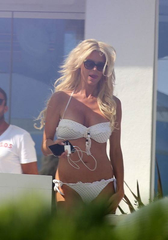 Victoria Silvsted in Bikini Enjoying the Sun of Ibiza Island 06/23/2017