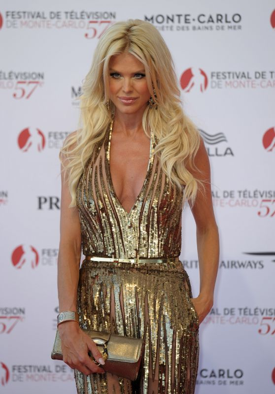Victoria Silvstedt – Monte Carlo TV Festival Opening Ceremony 06/16/2017