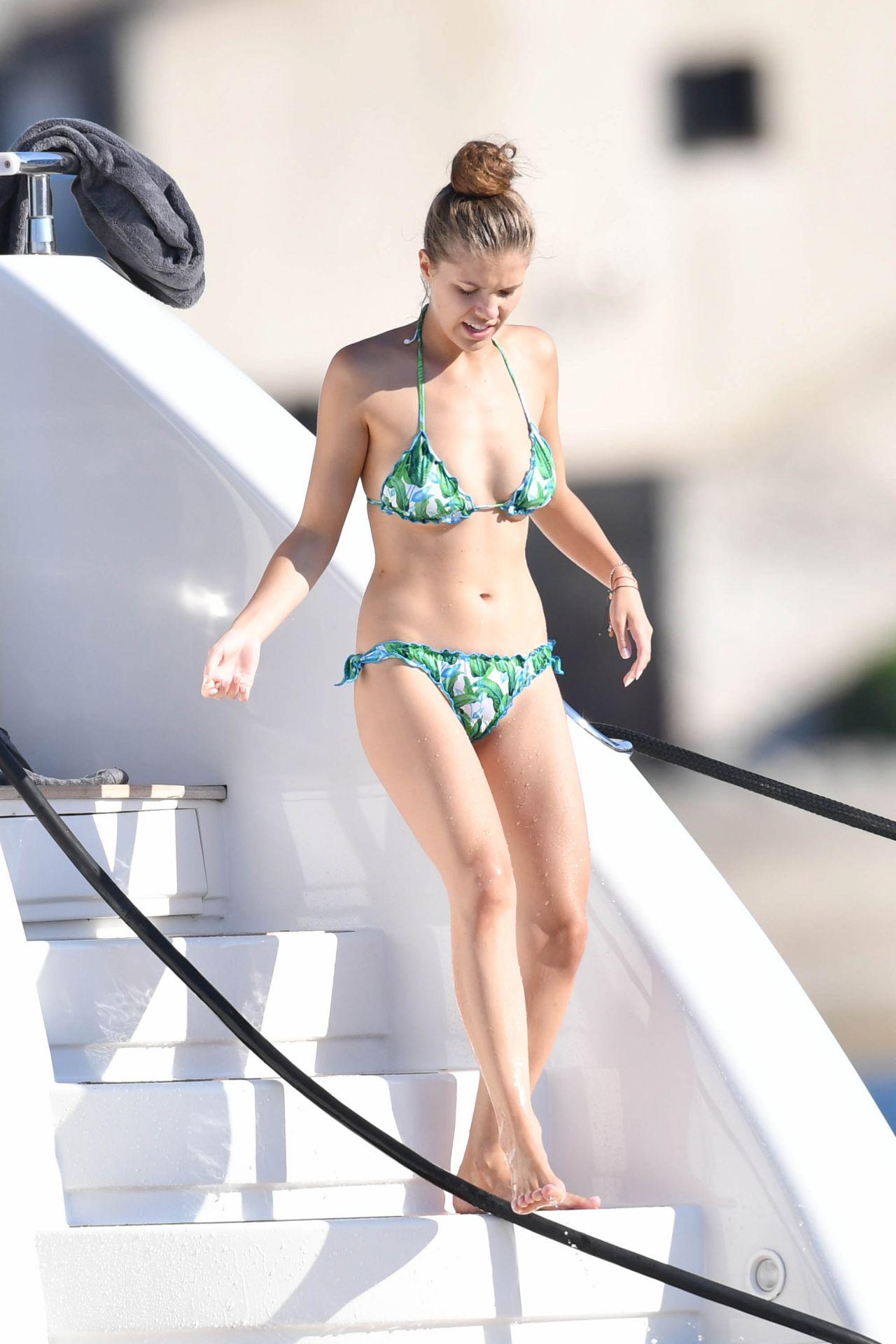Victoria Swarovski Bikini Candids Saint Tropez 06 19 2017