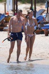 Victoria Swarovski Bikini Pics - Sardinia 06/23/2017