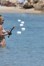 Victoria Swarovski in Bikini - Sardinia, Italy  06/24/2017