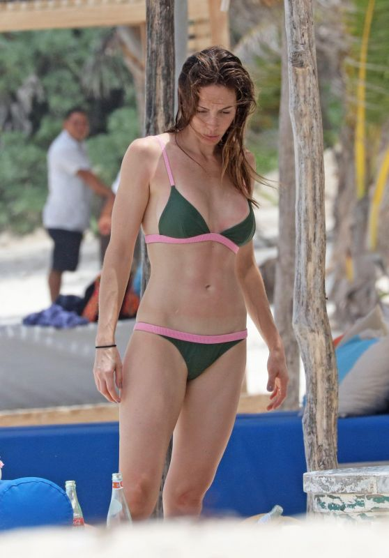 Whitney Cummings in Bikini at a Beach in Mexico 06/12/2017